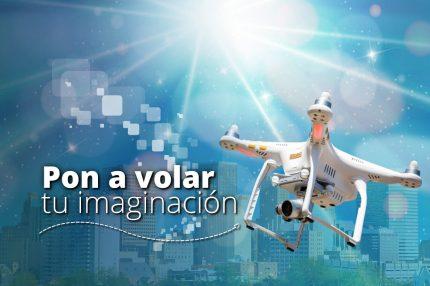 Servicio de tomas aéreas con dronnes no tripulados