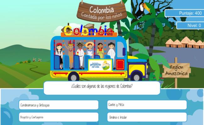 5 pantalla de preguntas juego con chiva avanzando